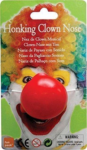 Zirkus Party Zubehör Groß Hupen Clown Schwamm Nase Rot (Clown Kostüm Streich)