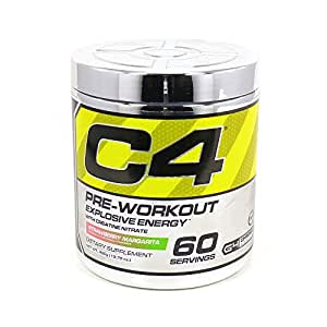 Cellucor C4 Extreme Workout Supplement, Strawberry Margarita, 60 Servings