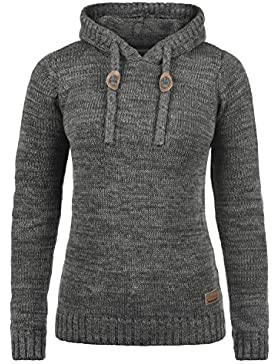 Desires Philia Jersey De Punto Suéter Sudadera De Punto Grueso con Capucha para Mujer con Capucha De 100% algodón
