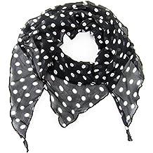 7e569dd848be10 MANUMAR Schal für Damen einfarbig | Hals-Tuch in verschiedenen Farben und  Motiven als perfektes