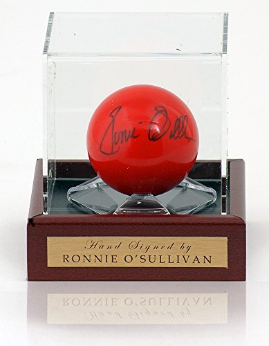 Ronnie O 'Sullivan handsigniert Snooker Ball