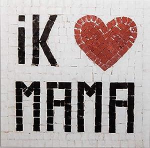 Trois petits points Kit de Mosaico Completo de Tres Puntos, Modelo Love Mama-Geant+, 6192459601687, Universal
