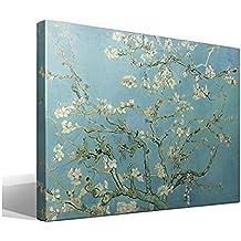 Cuadro Canvas Almendro en Flor de Vincent Willem van Gogh - Ancho: 95cm - Alto