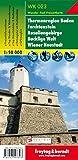 Thermal region Baden: Wandel- en fietskaart 1:50 000 (Wander Karte)