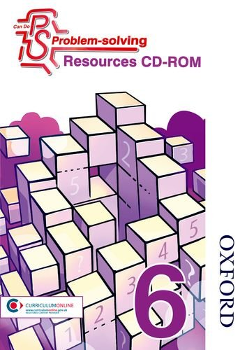 Price comparison product image Can Do Problem Solving Year 6 Resources CD-ROM: Teacher's CD-ROM Year 6 / P7
