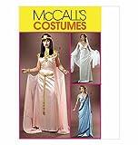 The McCall Pattern Company * Raro Uncut & OOP McCall 's m4954Misses' disfraces–egipcio, griego, princesa/diosa estilo patrón de costura tamaño: AA (6–8-10–12)