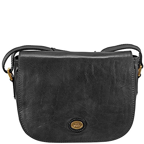 The Bridge Basic sac - bisaccia a tracolla pelle 28 cm nero-goldfarben