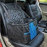 Yshen Housse de Siège Pet Carrier Car Seat Basket Booster Seat Soft Pet Voyage Protector Chien Sacs pour Petits Chiens