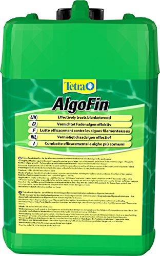 Tetra Pond AlgoFin (zur effektiven und sicheren Vernichtung von hartnäckigen Fadenalgen und anderen Algen im Gartenteich), 3 Liter Flasche