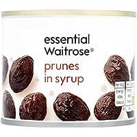 Ciruelas en almíbar 220 g esencial Waitrose