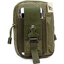 1b92fb549b LIUSIYU Tattico da Cintura, AODOOR Sport Uomo Impermeabile Bag, di  Campeggio Sacchetto Escursione Esterna