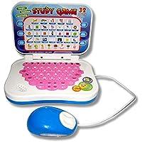 Erduo Portátil Bilingüe Temprano Máquina de Aprendizaje Educativo Niños Juguete Portátil con Ratón Ordenador Niños Juguete de Desarrollo de Regalos
