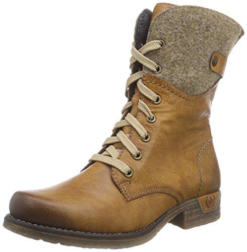 Rieker 79604, Stiefel, Braun (Cayenne/Wood 24), 43 EU (9 UK)