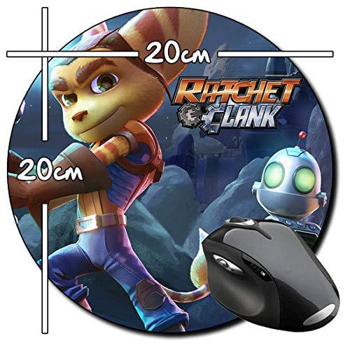 Ratchet & Clank C Tapis De Souris Ronde Round Mousepad PC