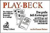 Play-Beck: Das große JuS-Kartenspiel mit 429 Frage- und Antwort-Karten zum Zivil-, Öffentlichen und Strafrecht