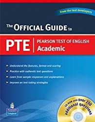 Official Guide to Pearson Test of English Academic (with CD-ROM)