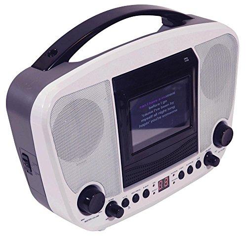 Minnie Canta Along Light Up Boombox Karaoke con vero microfono funzionante