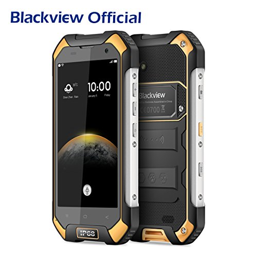 Outdoor Handy, Blackview BV6000S IP68 Outdoor Smartphone 4.7 Zoll Android 6.0 Wasserdichte / Stoßfest / Staubdicht Rugged Phone, Dual SIM Dual Standby Mobile Phone