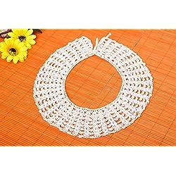 Cuello postizo blanco hecho a mano regalo personalizado accesorio de moda