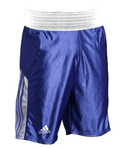 Adidas - Boxer Shorts Großes Elastisches Taillenband Boxer Training Shorts Größen S - XXL - L, Blau