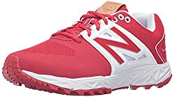 New Balance Men's 3000v3 Baseball Turf Shoes, Redwhite, 8 Uk42 Eu