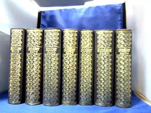 Schillers Werke in 14 Bänden in 7 Bde. gebunden. Hrsg. von Philipp Witkop und Eugen Kühnemann.