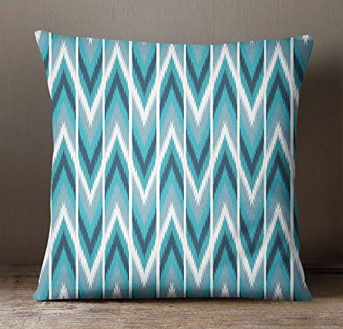 Print-dekorative Wurfs-kissen (EstherBur87 Home Dekorative Pillow Case Ikat Print Kissen Cover Square Cushion Cover Wurf Pillow CaseSofia Cushion CoverISUBSAS477A)