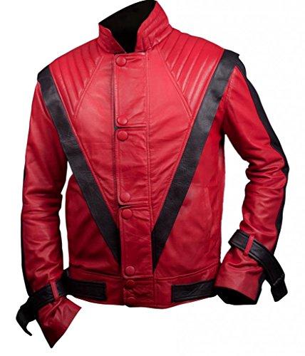 F&H Men's Michael Jackson Thriller Jacket L Red
