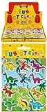 24 x Dinosaur Sticker Sheets - REFERENCE PBF159
