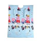 AUTOECHO Winterdecke für Damen, Mädchen, mit Ärmeln und Armen, multifunktional, Douyin Kaninchen, mit Ärmeln für Erwachsene, Büro, Freizeit, Decken, Überwürfe, Wickeltuch (1,5 x 2 m) Peppa Pig