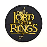 """Parche bordado de """"El Señor de los Anillos, distintivo para disfraces con diseño de El Hobbit, 8cm, para aplicar con plancha, souvenir"""