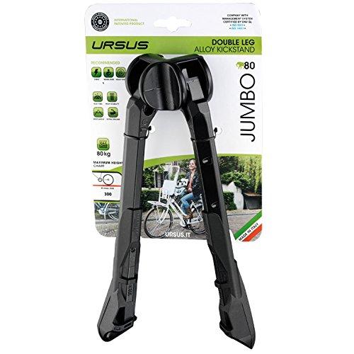 ursus-jumbo-zweibeinstnder-26-schwarz-ausfhrung-fr-28-zoll-2016-fahrradstnder
