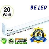 BE 20-watt High Luminanc ITE Led Tube Light Size 2 Feet & 2150 Luminanc Brightness Guaranteed &01 Yaer Warranty (Pack Of 01,Cool Day White) (High Quality, 100% Satisfaction)