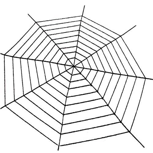 (Partiss Spinngewebe halloween dekoration Spinnennetz Halloween Deko Spinnweben Outdoor Innen,3.6meter Black)