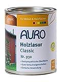 AURO Holzlasur, Classic - Schwarz - 0,75L