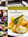 Cuisine des tables d'hôtes de Provence
