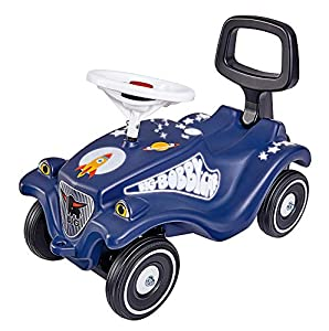 BIG Spielwarenfabrik 800056119 Big-Bobby-Car Classic Moonwlaker, Azul, Blanco, Negro