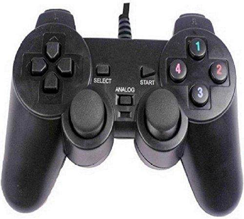 OYD USB Vibration Game Pad Remote Joystick (Black)