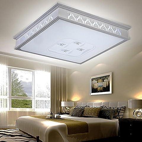NHD-Modern minimalist LED aluminum carved living room