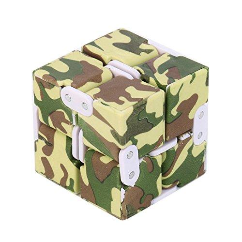 Preisvergleich Produktbild WYXlink 2017 Luxury EDC INFINITY Cube Mini for Stress Relief Regungen Anti Angst Stress Funny (C)