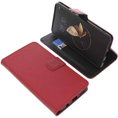 foto-kontor Tasche für Archos Diamond Gamma Book Style rot Schutz Hülle Buch