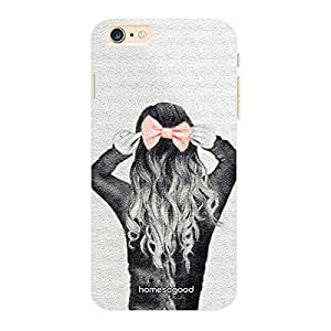 HomeSoGood Red Bowed Fashion Design 3D Mobile Case For iPhone 6 Plus (Back Cover)