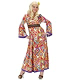 WIDMANN 76212 – Costume – Flower Power, robe