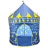 SySrion Boys Blue Prince Castle Play Ten...