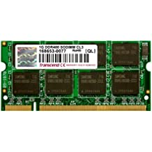 Transcend TS128MSD64V4A Memoria 1GB DDR SO-DIMM 200-pin, Arancio