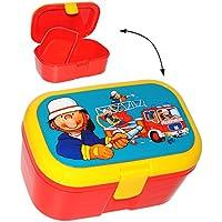 Preisvergleich für alles-meine.de GmbH Lunchbox / Brotdose - Feuerwehr & Feuerwehrmann - mit Extra Einsatz / Hera..