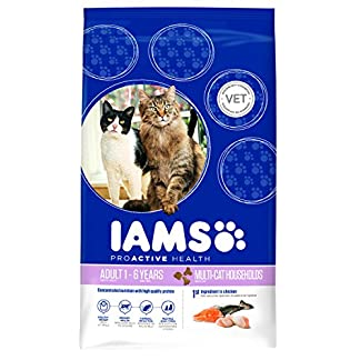 Iams Cat Food ProActive Health Multi-Cat with Norwegian Salmon and Chicken, 15 kg 3
