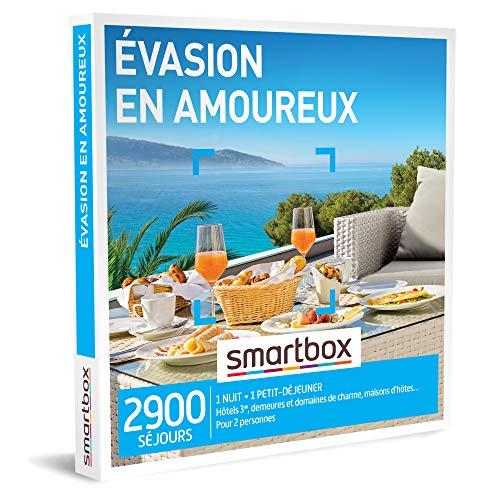 SMARTBOX - Coffret Cadeau couple - Évasion en amoureux - idée cadeau - 2900...