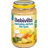 Bebi Vita–à pommes de terre légumes avec Dinde Aliments Pour Bébé Baby potage Verre à partir de 8mois–220g