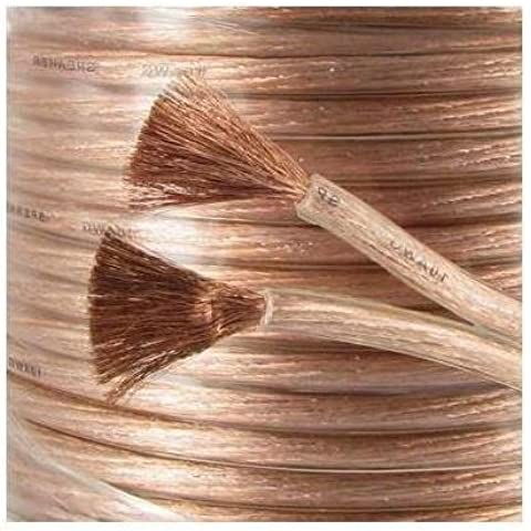 10m Loud Speaker Cable OFC Oxygen Free Copper 4.3mm 326 strand Studio Grade by ASCL by ASCL